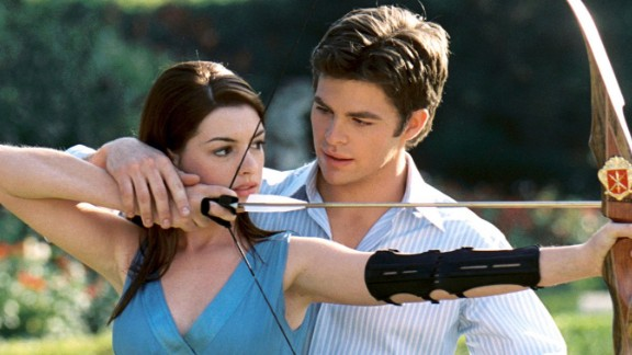 """""""The Princess Diaries 2: Royal Engagement"""" : Anne Hathaway returns to costar with Héctor Elizondo in this sequel about an American born princess. (HBO Now)"""