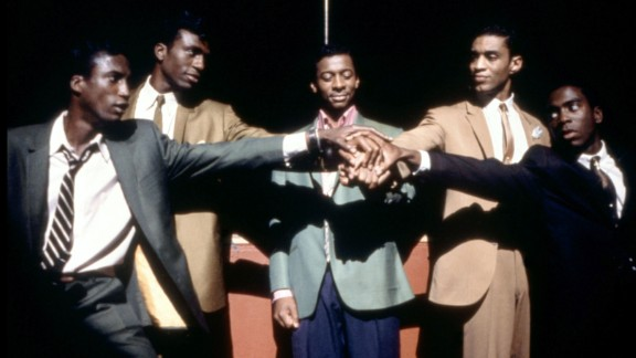 """""""The Five Heartbeats"""" : Nights like this we wish the film about a male singing group starring Michael Wright, Leon, Robert Townsend, Harry J. Lennix and Tico Wells was streaming all day. It's a fan favorite. (Netflix)"""