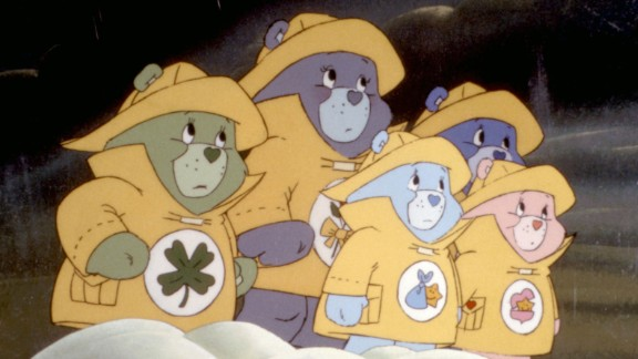 """""""The Care Bears Movie"""" : The bears watch over a pair of siblings and have to deal with an evil wizard in this animated film. (Hulu)"""