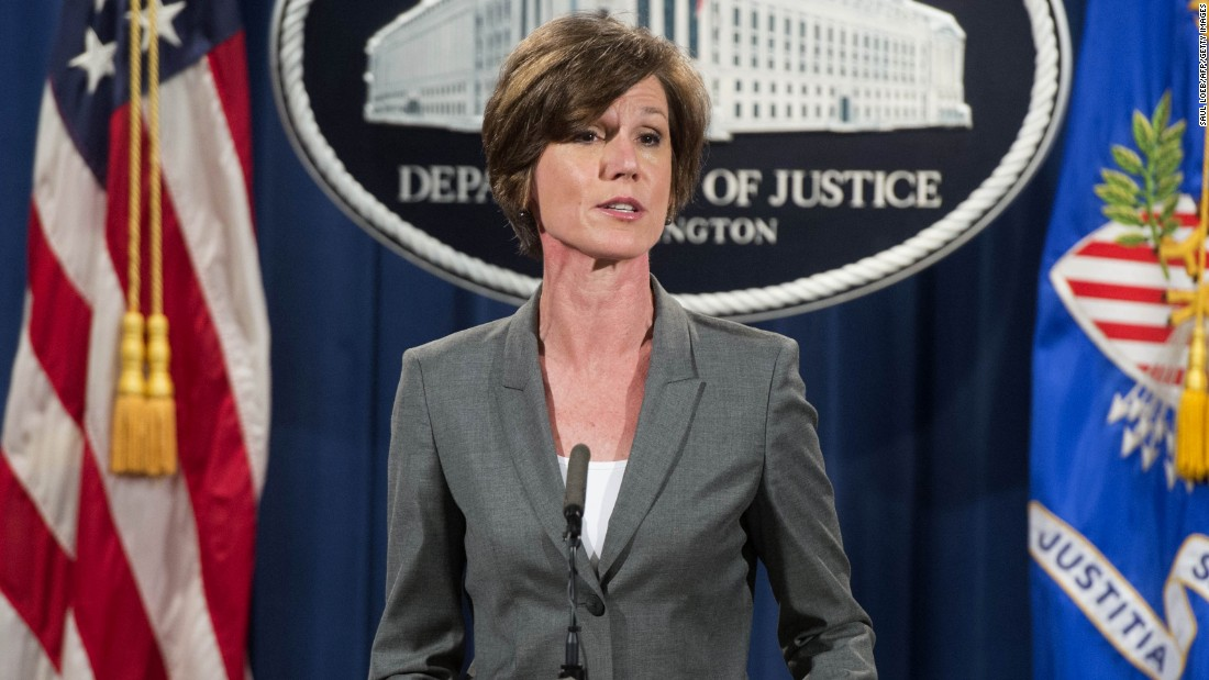 Image result for sally yates images