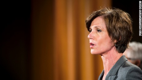 Sally Yates delivered the message about Flynn to the White House.