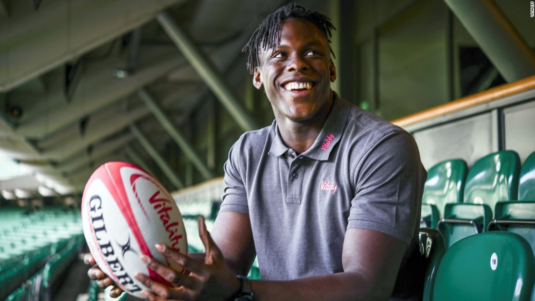 Itoje is only in his fourth season of professional rugby, but he is already considered one of the world's best players.