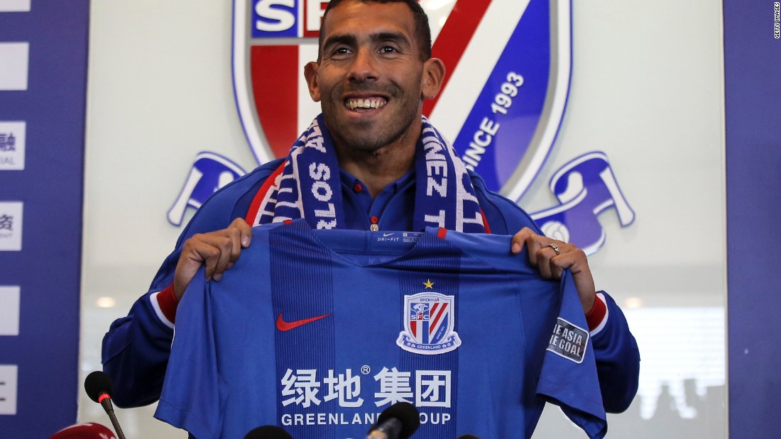 <strong>Carlos Tevez: Boca Juniors to Shanghai Shenhua </strong><br />Transfer fee: Undisclosed<br />Age: 32<br />Position: Striker <br />Nationality: Argentina