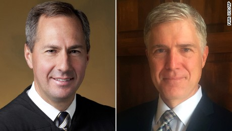 Thomas Hardiman and Neil Gorsuch