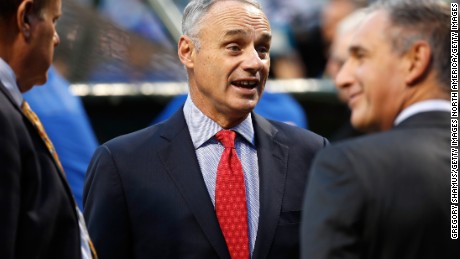 "MLB Commissioner Rob Manfred has handed down an ""unprecedented"" penalty to the St. Louis Cardinals."