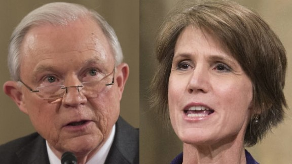 Trump administration Attorney General Jeff Sessions and Obama administration Deputy Attorney General Sally Yates have been key players in issuing and then turning around guidance on private prisons.