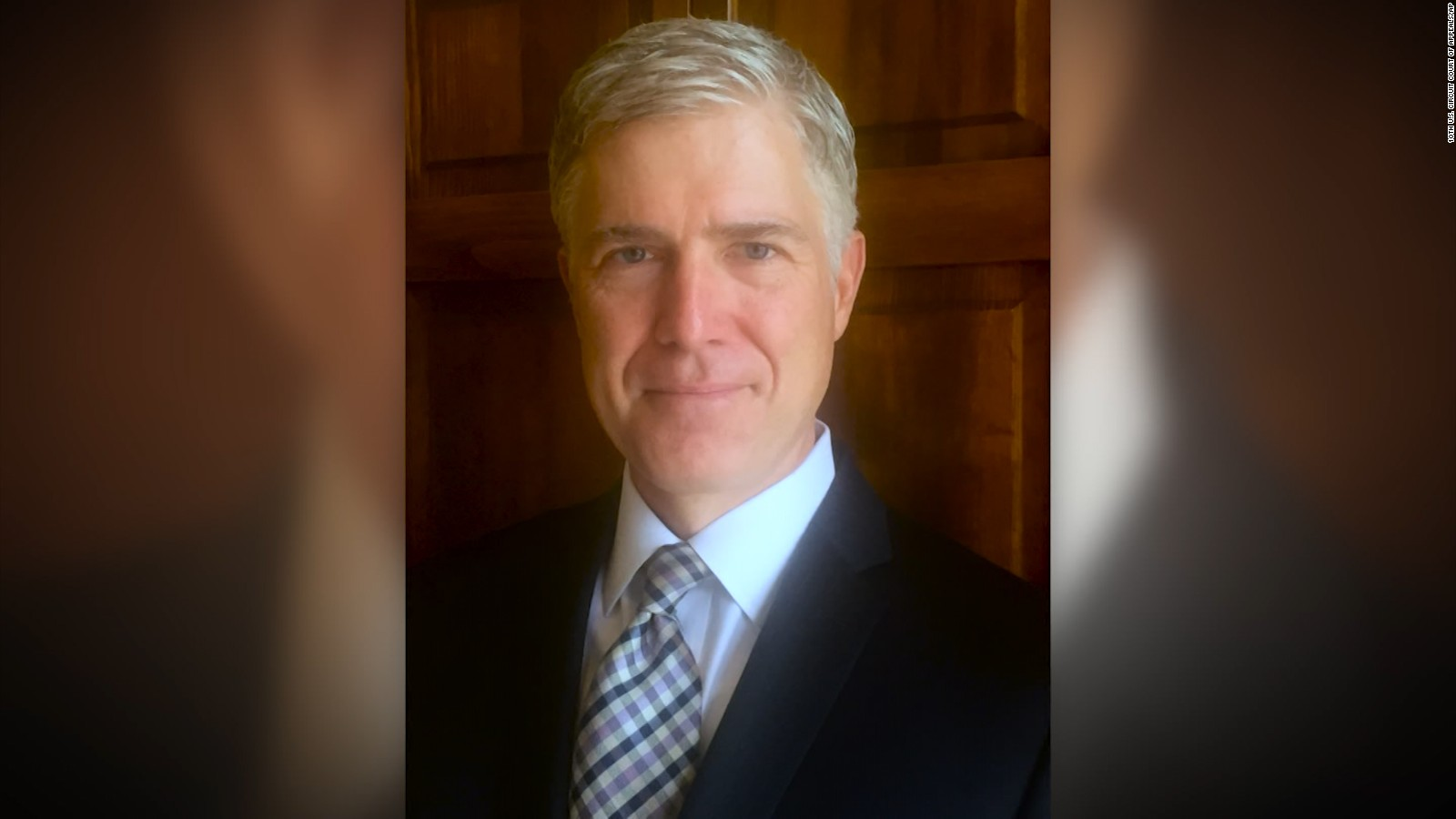 How Neil Gorsuch Became Donald Trumps Supreme Court Nominee