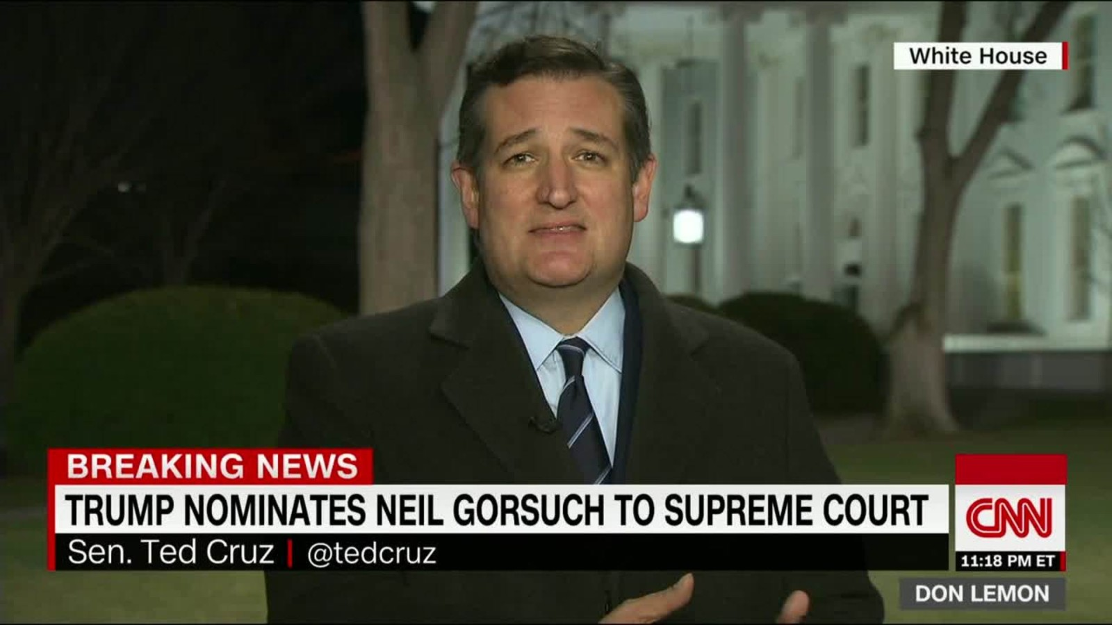 Ted Cruz Quotes Ted Cruz 'judge Gorsuch Is A Home Run'  Cnnpolitics