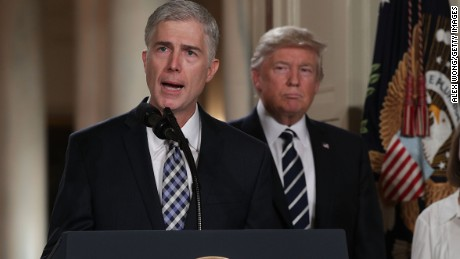 The curveball in the Gorsuch nomination
