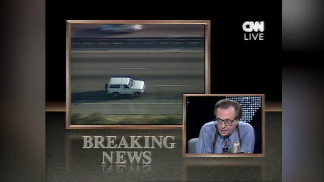 25 years ago today, America stopped to watch the cops chase O.J. in a white Ford Bronco