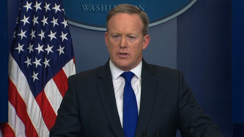 Spicer asked to clarify Trump's view on Islam