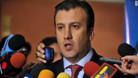 Tareck El Aissami is the vice president of Venezuela and the former minister in charge of immigration. He has been identified in congressional testimony for allegedly collaborating with terrorist groups in the Middle East. An intelligence report from Latin American countries obtained by CNN says he used his political influence to provide identification cards, passports, and visas and to naturalize citizens of different countries related to international terrorism. El Aissami has not responded to multiple requests for comment from CNN.