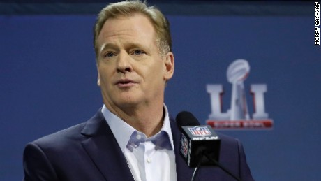 Roger Goodell: If I'm invited back to Foxborough, I'll come