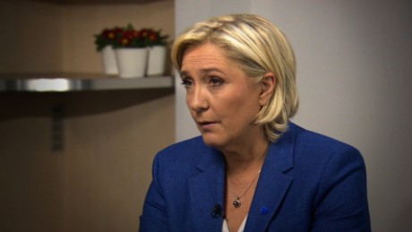 Marine Le Pen defends Trump's travel ban