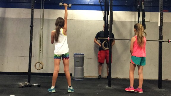 Jordan started CrossFit as a challenge and a way to build up muscle strength.