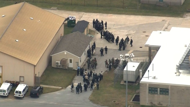 Officers held hostage at Delaware prison