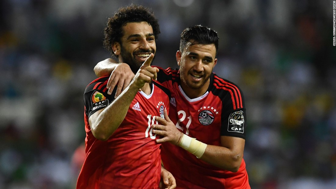 But Mohamed Salah gave Egypt the lead just after the hour mark, curling a brilliant effort into the top corner.