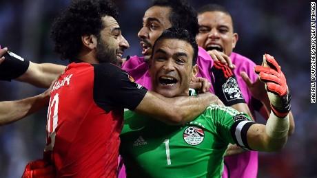 Egypt39s 44 Year Old Goalkeeper Essam El Hadary Was