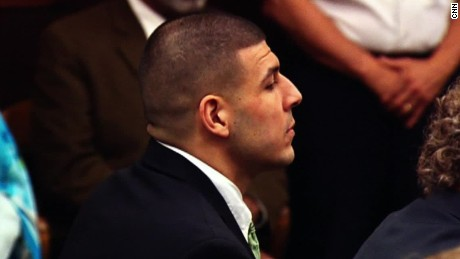 Aaron Hernandez is accused of killing two men outside a Boston nightclub.