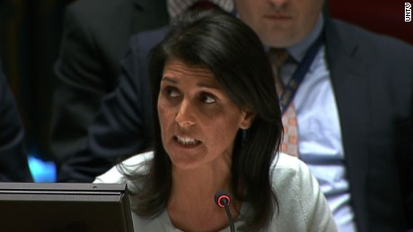Haley: The escalation of violence must stop