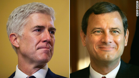 Gorsuch v. Roberts: The rookie takes on the chief