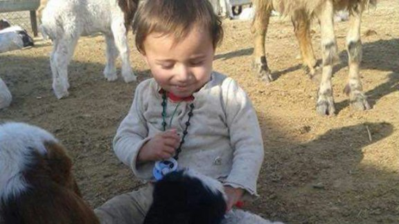 Dilbireen, a cheerful child, has a love of animals.