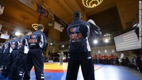 The US Wrestling Team will be aiming for glory later this month.