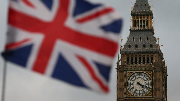 A Union flag flies near the The Elizabeth Tower, commonly known Big Ben, and the Houses of Parliament in London on February 1, 2017. British MPs are expected Wednesday to approve the first stage of a bill empowering Prime Minister Theresa May to start pulling Britain out of the European Union. Ahead of the vote, which was scheduled to take place at 7:00 pm (1900 GMT), MPs were debating the legislation which would allow the government to trigger Article 50 of the EU