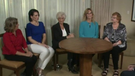 Women Trump voters praise the President