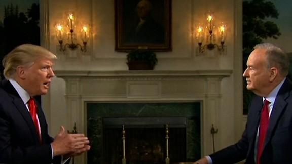 Bill O'Reilly interviews President Trump