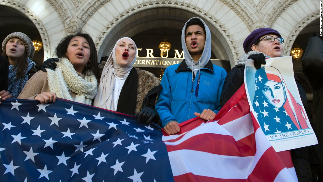 We've worked on stopping terrorism. Trump's travel ban fuels it