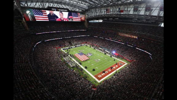The game was played at NRG Stadium, home of the NFL