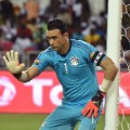Egypt's goalkeeper Essam El-Hadary AFCON