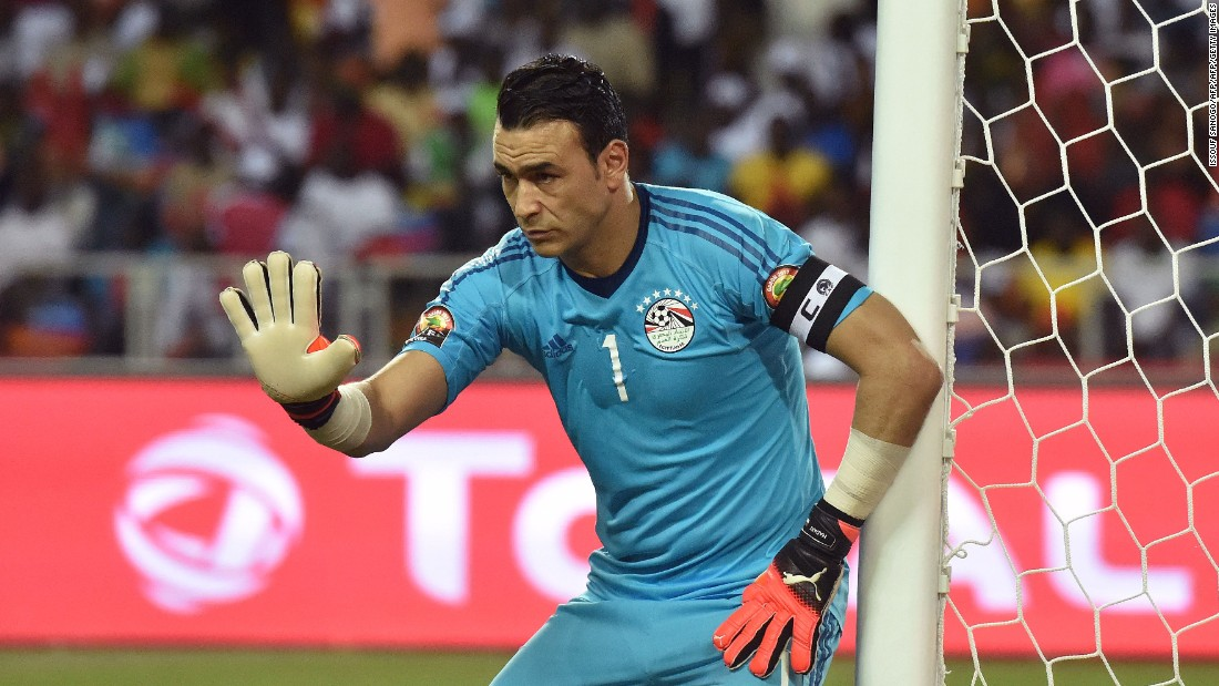 Egypt's 44-year-old goalkeeper Essam El-Hadary was hoping to win a fifth AFCON trophy -- more than any other player or country -- and had only conceded one goal all tournament.