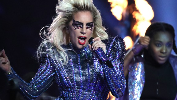"""Gaga played several of her most popular songs, including """"Poker Face,"""" """"Telephone,"""" """"Just Dance"""" and """"Born This Way."""""""