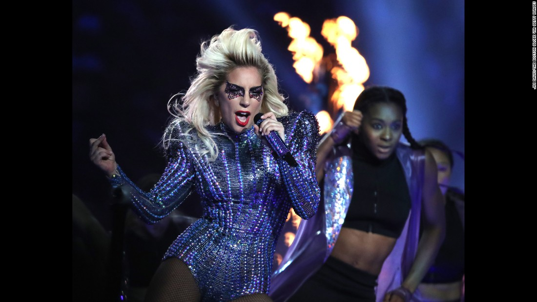 "Gaga played several of her most popular songs, including ""Poker Face,"" ""Telephone,"" ""Just Dance"" and ""Born This Way."""
