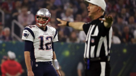 Brady reacts to an incomplete pass in the second half.