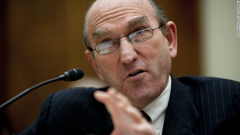 Elliott Abrams, seen here in 2011, will be responsible for leading the US effort in Venezuela, Secretary of State Mike Pompeo said.