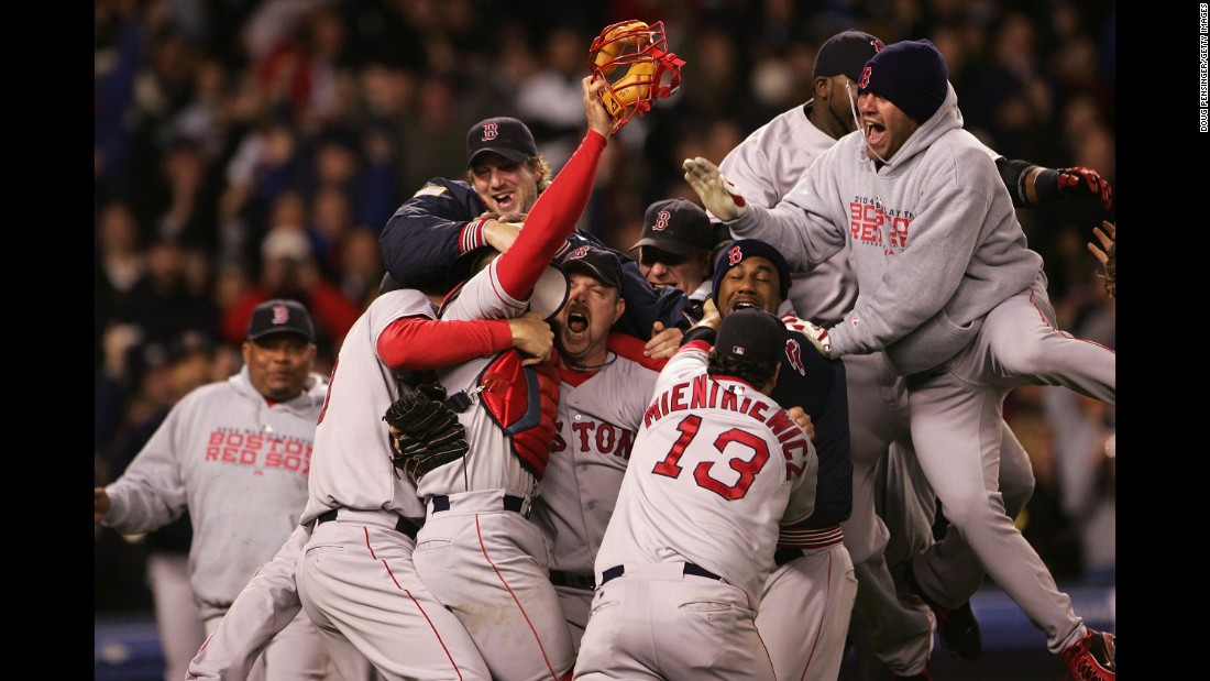 In 2004, the Boston Red Sox shook off the dreaded Curse of the Bambino, an 86-year-old World Series drought. But before that, they defeated the rival New York Yankees in Game 7 of the American League Championship Series. In doing so, the Sox became the first Major League team to win after a 3-0 series deficit. They went on to easily beat the St. Louis Cardinals for the title.