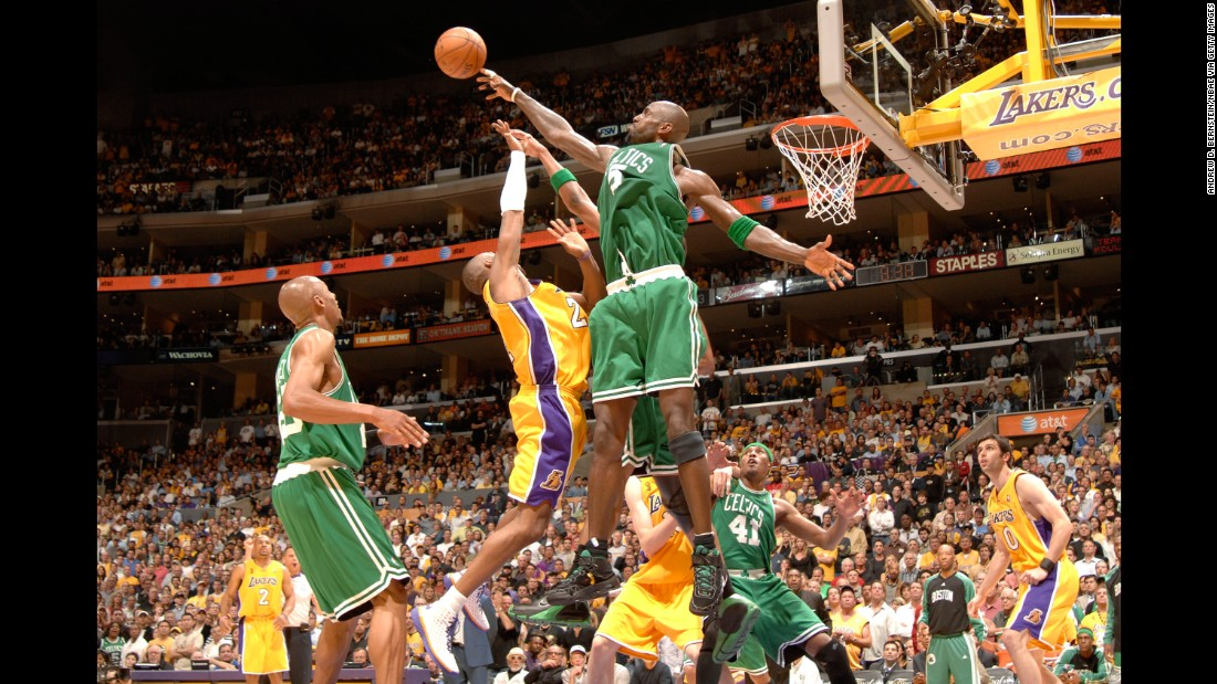 The Boston Celtics and Los Angeles Lakers have had many remarkable games, no doubt. As NBA Finals games go, however, few, if any, can top 2008's Game 4. The Lake Show jumped to the biggest first-quarter lead in Finals history and led by as many as 24 in the third quarter. But Boston's Kevin Garnett, Ray Allen and Paul Pierce all contributed to a 21-3 run that flipped the storyline. They went on to win the series.