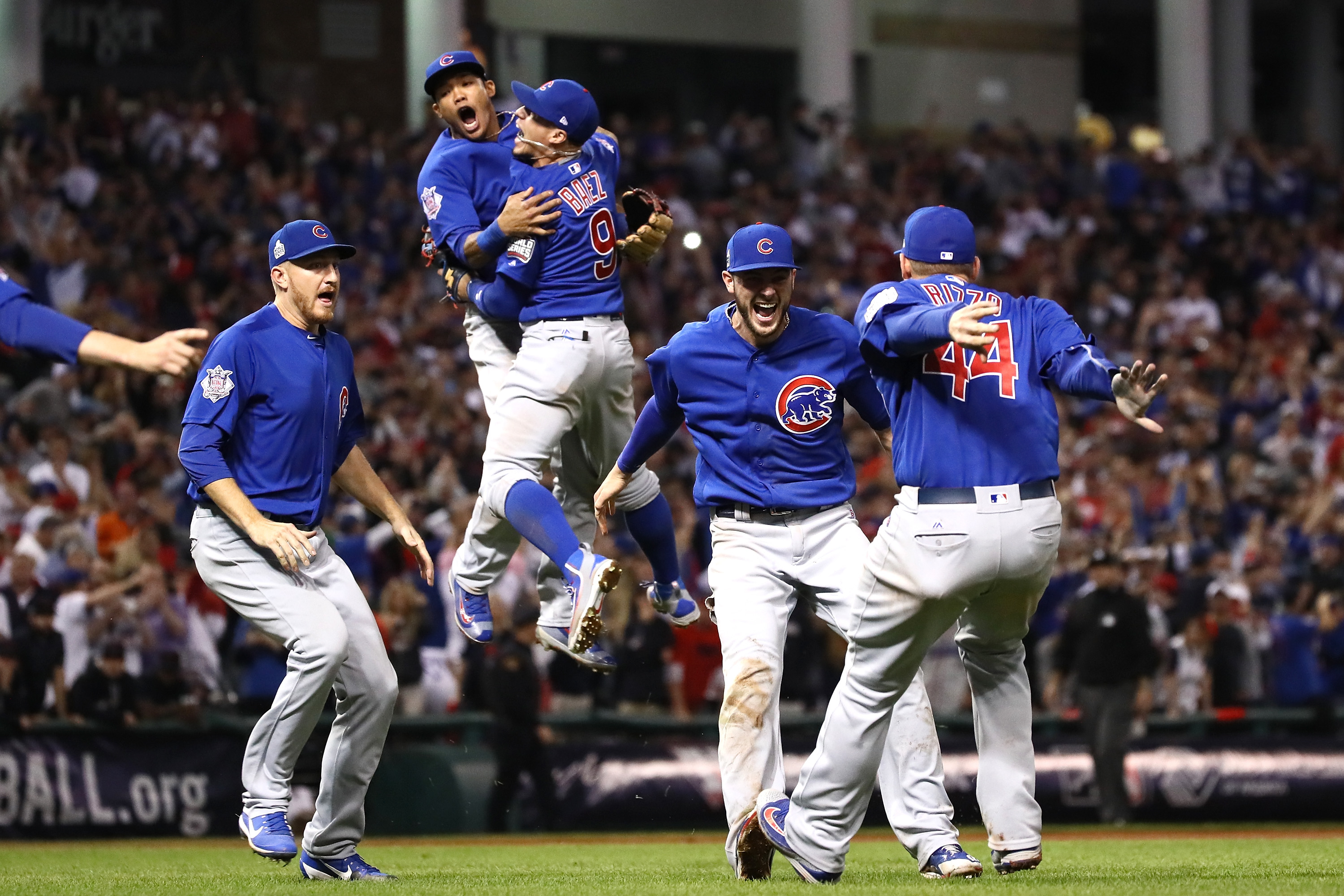 Chicago Cubs End 108 Year World Series Drought Cnn Video