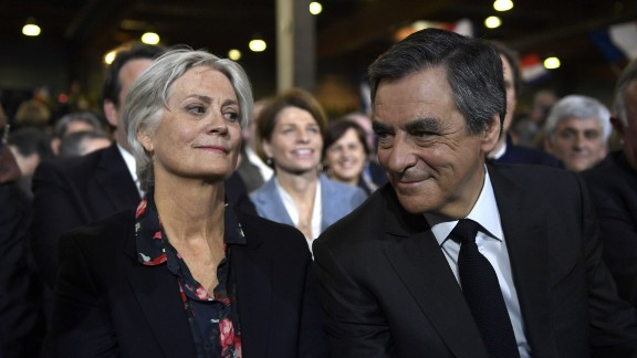 Francois Fillon and his wife Penelope have both been caught up in allegations of corruption.