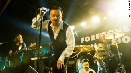 Ricky Gervais in the Netflix movie 'David Brent: Life on the Road'