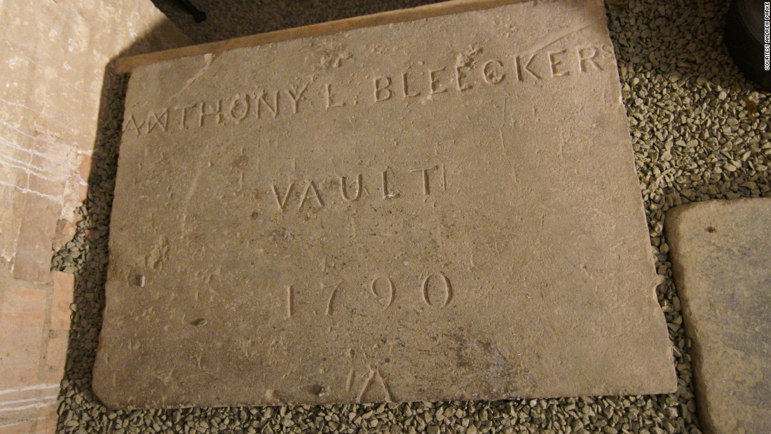 The vault was purchased in 1790 by Anthony Lispenard Bleecker, who had a farm where Bleecker Street is today.