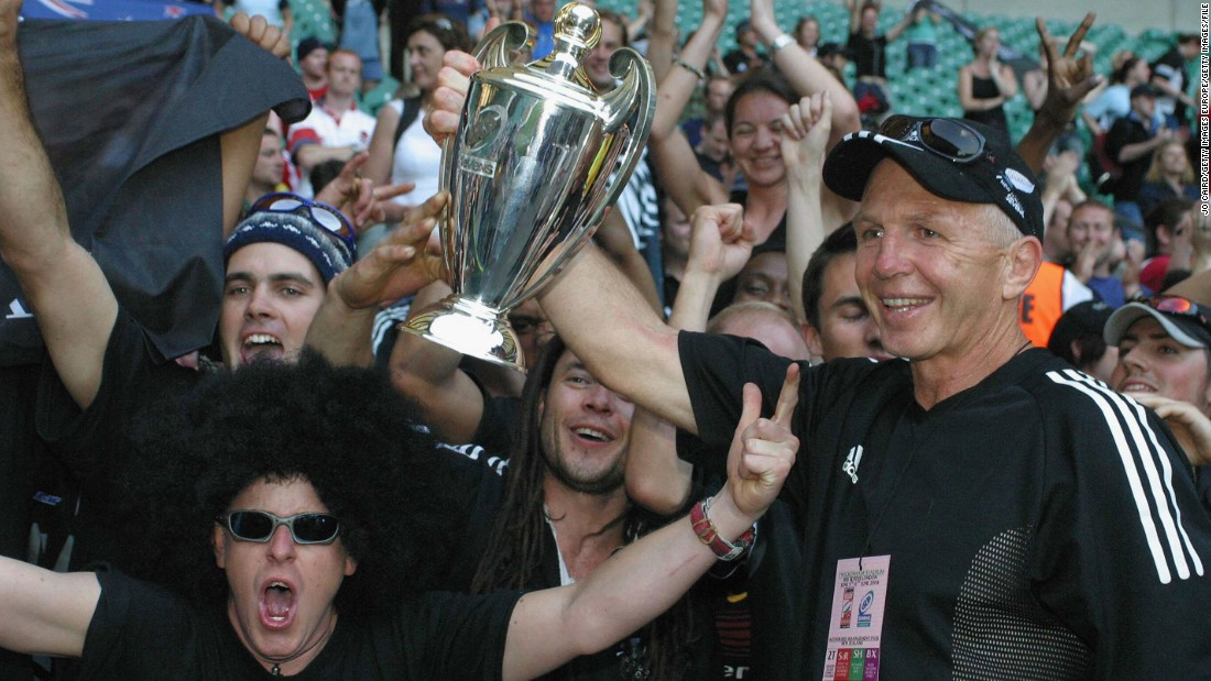 Tietjens' New Zealand team won the Sevens World Series a record 12 times, including the first six seasons the competition was held.