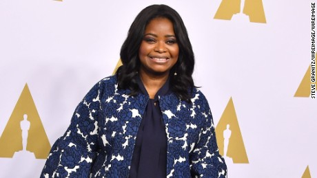 Octavia Spencer arrives at the 89th Annual Academy Awards Nominee Luncheon at The Beverly Hilton Hotel on February 6, 2017 in Beverly Hills, California.