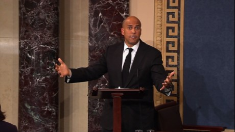 Booker: GOP can't force Obamacare replacement 'down our throats'
