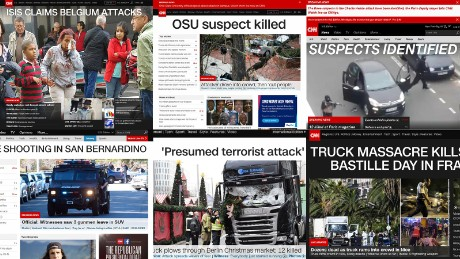 How CNN covered the terror attacks on the White House list