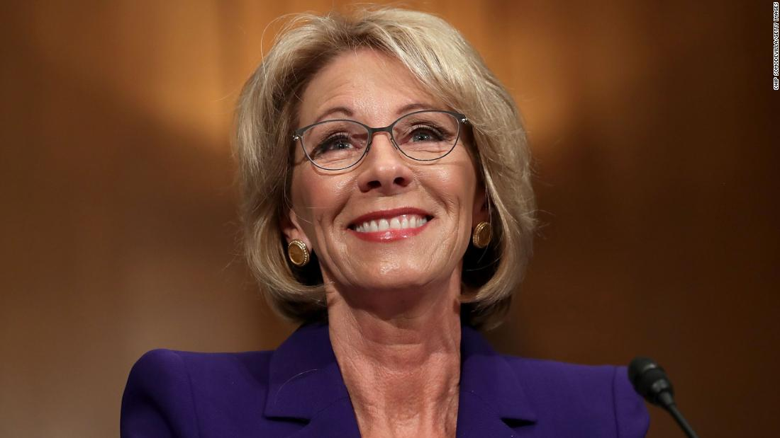 Betsy Devos Is Wrong About >> Betsy Devos Controversial Statements