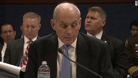 secretary john kelly dhs travel ban